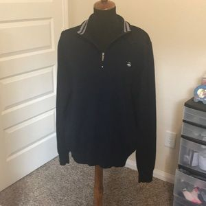 Brooks Brother Navy Blue Sweater